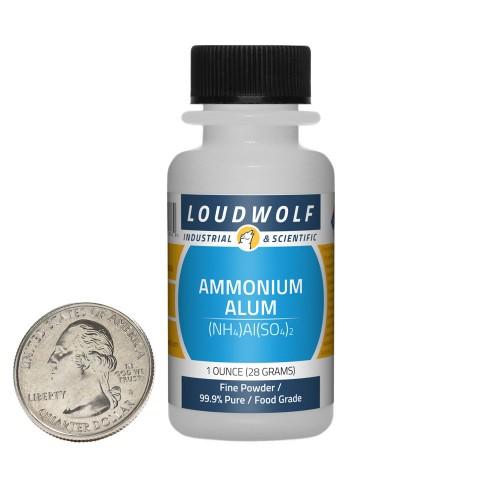 Ammonium Alum - 1 Ounce in 1 Bottle