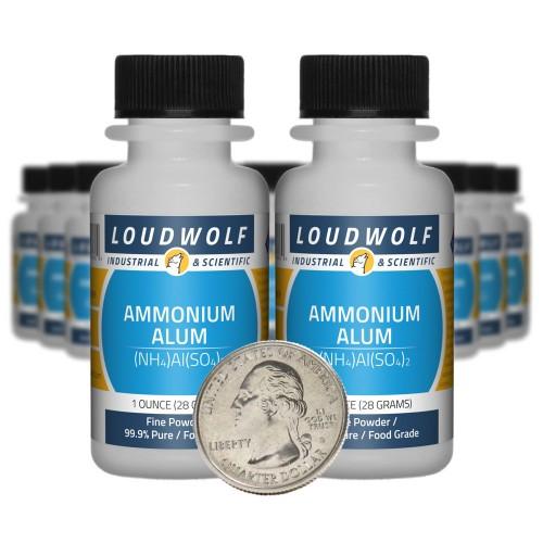 Ammonium Alum - 1.3 Pounds in 20 Bottles