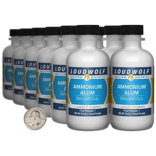 Ammonium Alum - 3 Pounds in 12 Bottles