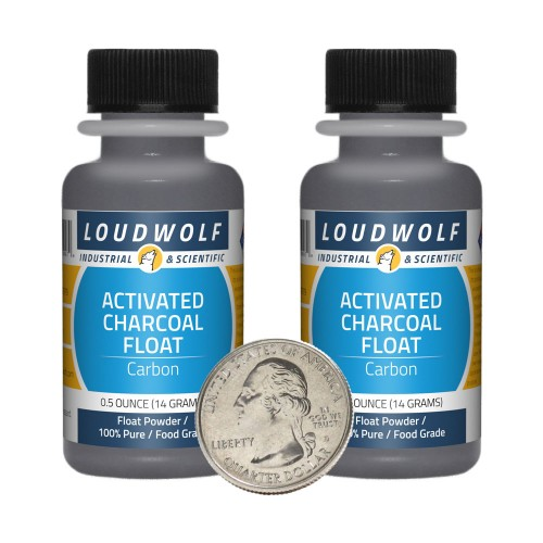 Activated Charcoal Float - 1 Ounce in 2 Bottles