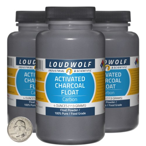 Activated Charcoal Float - 12 Ounces in 3 Bottles
