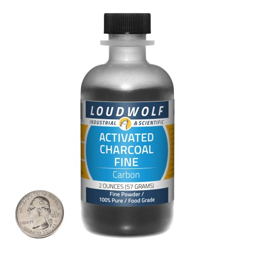 Activated Charcoal Fine - 2 Ounces in 1 Bottle
