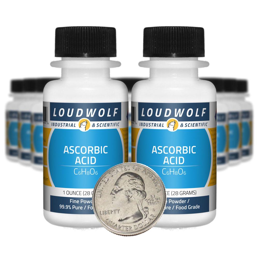 Ascorbic Acid - 1.3 Pounds in 20 Bottles