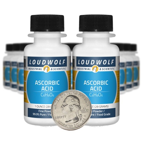 Ascorbic Acid - 1.3 Pounds in 20 Bottles
