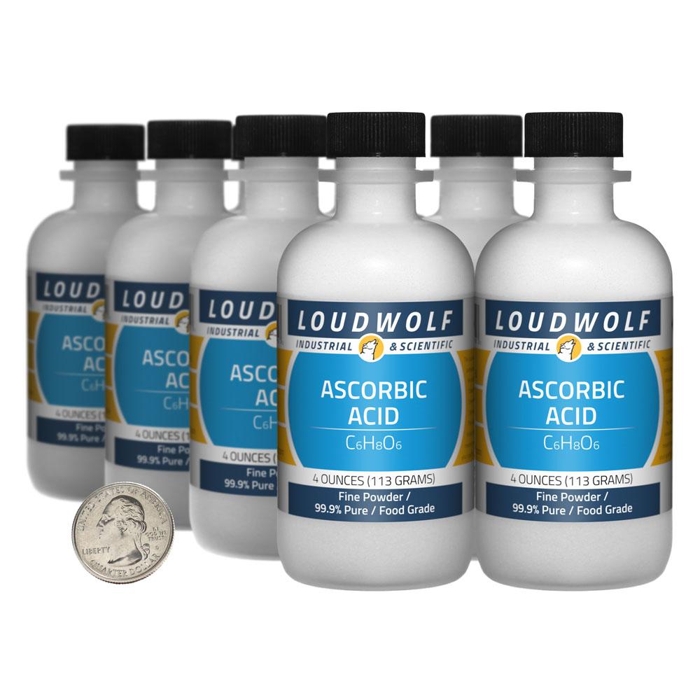 Ascorbic Acid - 2 Pounds in 8 Bottles