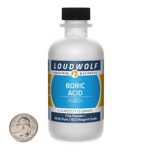Boric Acid - 4 Ounces in 1 Bottle