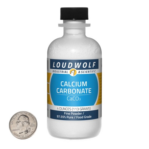 Calcium Carbonate - 4 Ounces in 1 Bottle