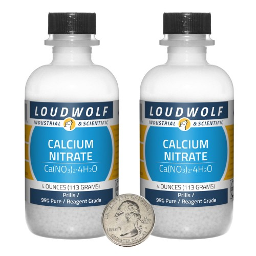 Calcium Nitrate - 8 Ounces in 2 Bottles