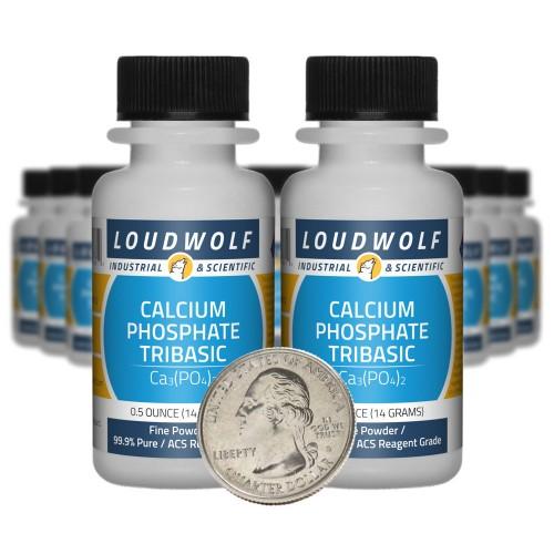 Calcium Phosphate Tribasic - 10 Ounces in 20 Bottles