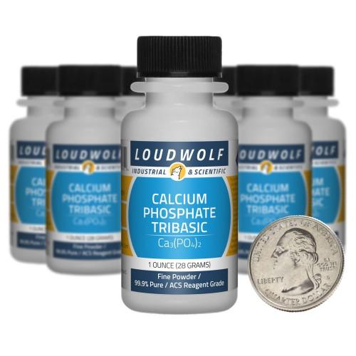 Calcium Phosphate Tribasic - 10 Ounces in 10 Bottles