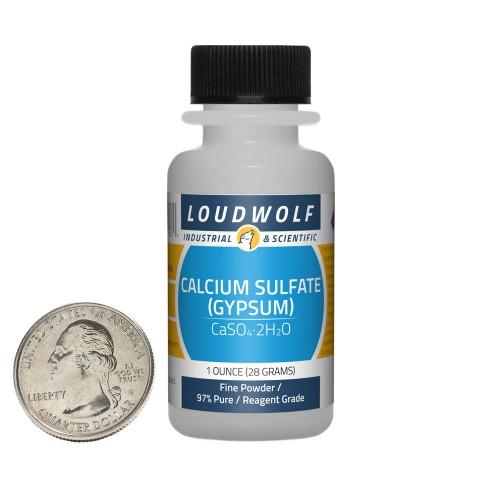 Calcium Sulfate (Gypsum) - 1 Ounce in 1 Bottle