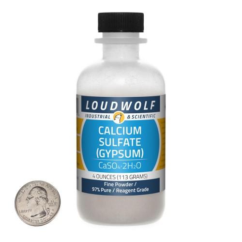Calcium Sulfate (Gypsum) - 4 Ounces in 1 Bottle