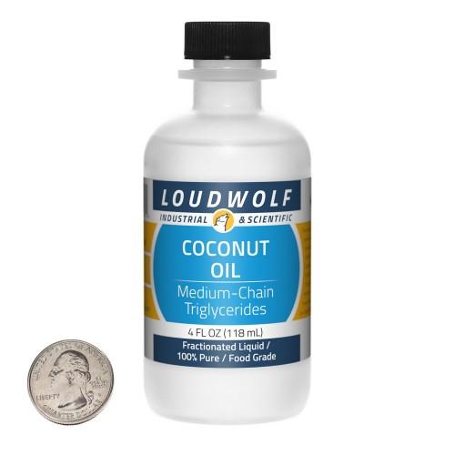Coconut Oil - 4 Fluid Ounces in 1 Bottle