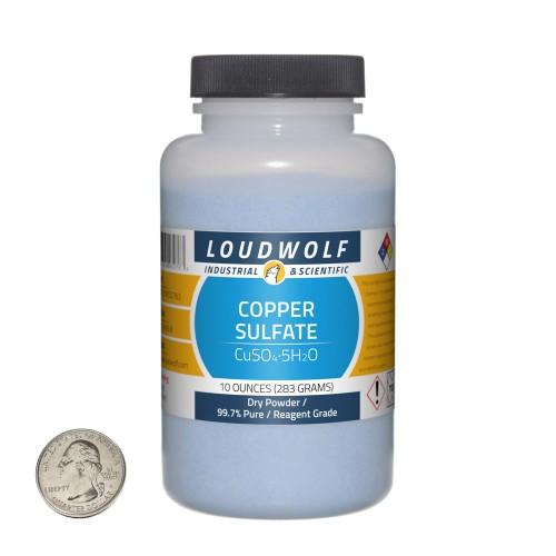 Copper Sulfate - 10 Ounces in 1 Bottle