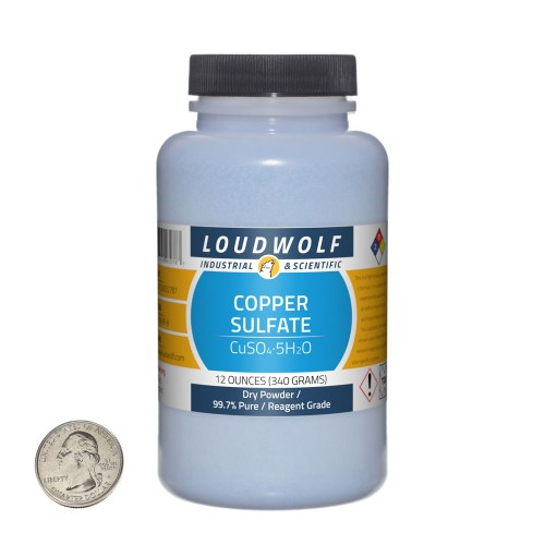 Copper Sulfate - 12 Ounces in 1 Bottle