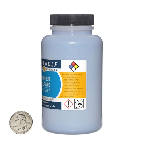 Copper Sulfate - 4.5 Pounds in 6 Bottles