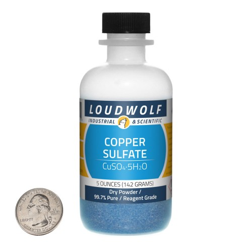 Copper Sulfate - 5 Ounces in 1 Bottle