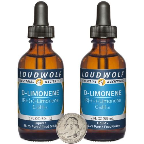 D-Limonene - 4 Fluid Ounces in 2 Bottles