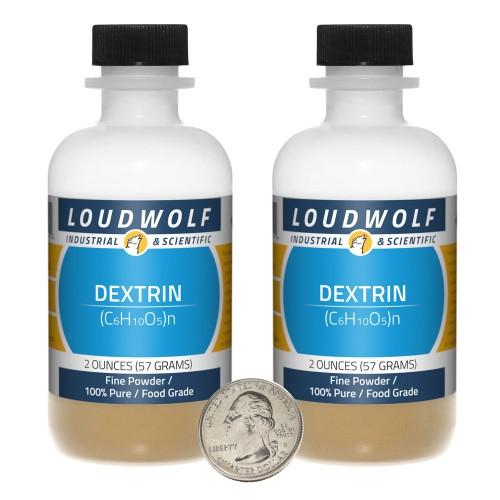 Dextrin - 4 Ounces in 2 Bottles