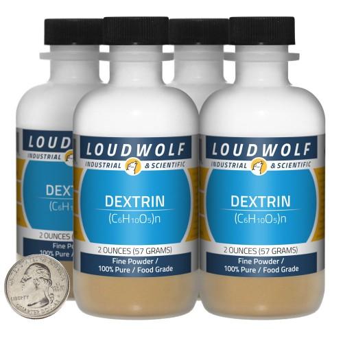 Dextrin - 8 Ounces in 4 Bottles
