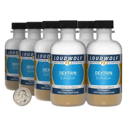 Dextrin - 1 Pound in 8 Bottles