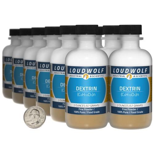 Dextrin - 1.5 Pounds in 12 Bottles