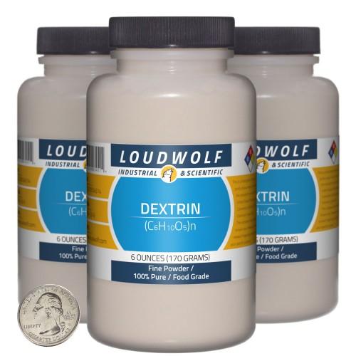 Dextrin - 1.1 Pounds in 3 Bottles