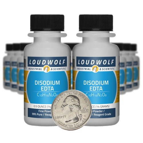 Disodium EDTA - 10 Ounces in 20 Bottles