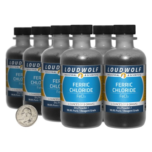 Ferric Chloride - 2 Pounds in 8 Bottles