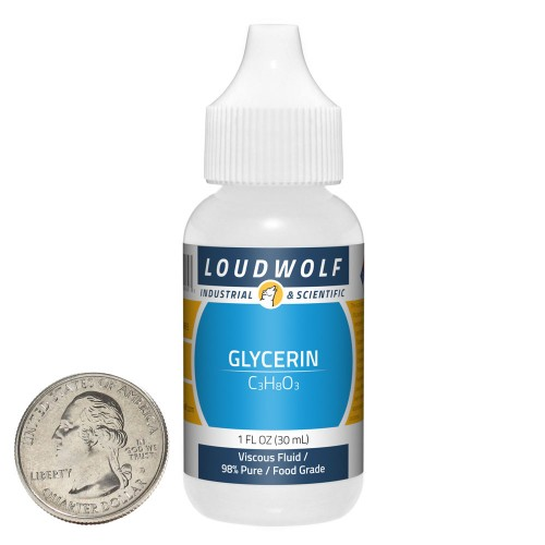 Glycerin - 1 Ounce in 1 Bottle