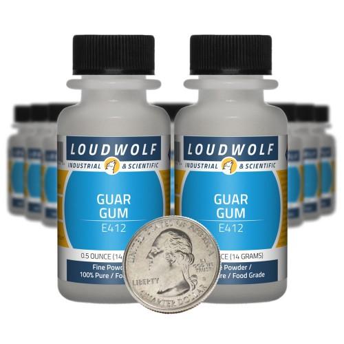 Guar Gum - 10 Ounces in 20 Bottles