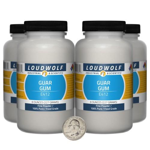 Guar Gum - 2 Pounds in 4 Bottles