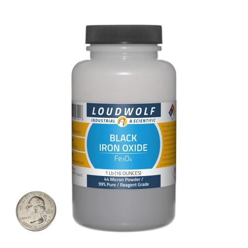 Black Iron Oxide - 1 Pound in 1 Bottle