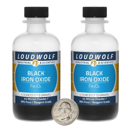 Black Iron Oxide - 8 Ounces in 2 Bottles