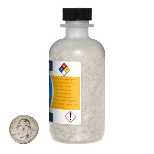 Magnesium Chloride Hexahydrate - 1 Pound in 4 Bottles