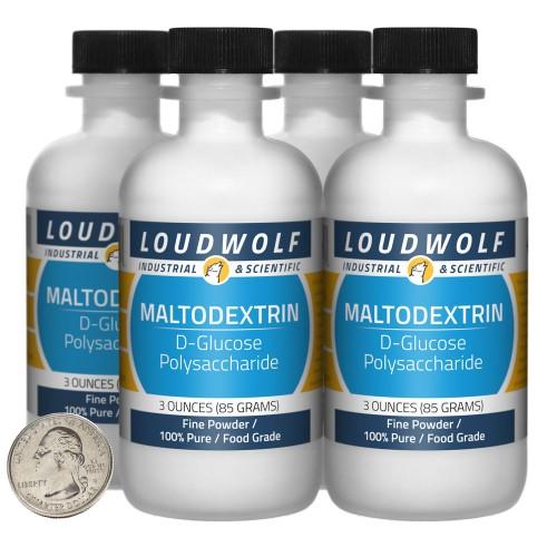 Maltodextrin - 12 Ounces in 4 Bottles