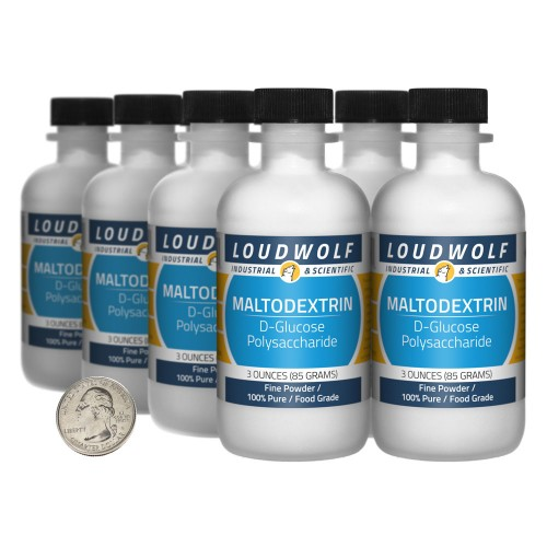 Maltodextrin - 1.5 Pounds in 8 Bottles