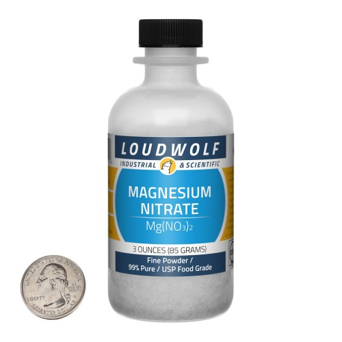 Magnesium Nitrate - 3 Ounces in 1 Bottle