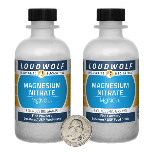 Magnesium Nitrate - 6 Ounces in 2 Bottles