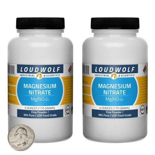 Magnesium Nitrate - 12 Ounces in 2 Bottles