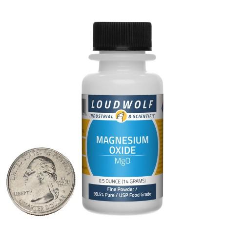Magnesium Oxide - 0.5 Ounces in 1 Bottle