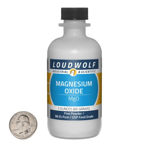 Magnesium Oxide - 3 Ounces in 1 Bottle