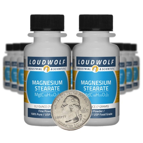Magnesium Stearate - 5 Ounces in 20 Bottles