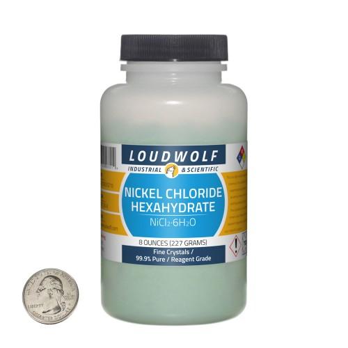 Nickel Chloride Hexahydrate - 8 Ounces in 1 Bottle