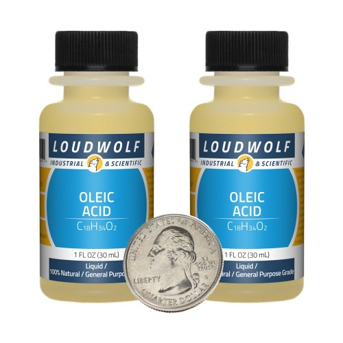 Oleic Acid - 2 Fluid Ounces in 2 Bottles