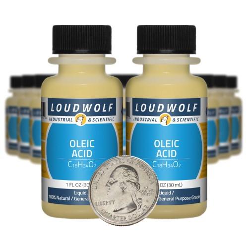 Oleic Acid - 20 Fluid Ounces in 20 Bottles