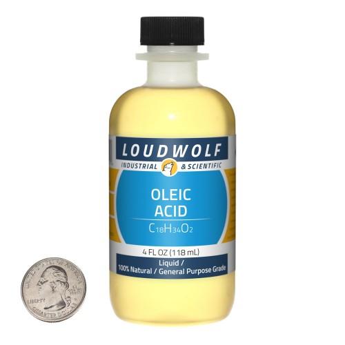 Oleic Acid - 4 Fluid Ounces in 1 Bottle
