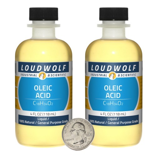Oleic Acid - 8 Fluid Ounces in 2 Bottles