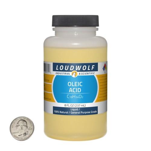 Oleic Acid - 8 Fluid Ounces in 1 Bottle