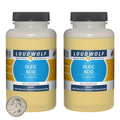 Oleic Acid - 16 Fluid Ounces in 2 Bottles
